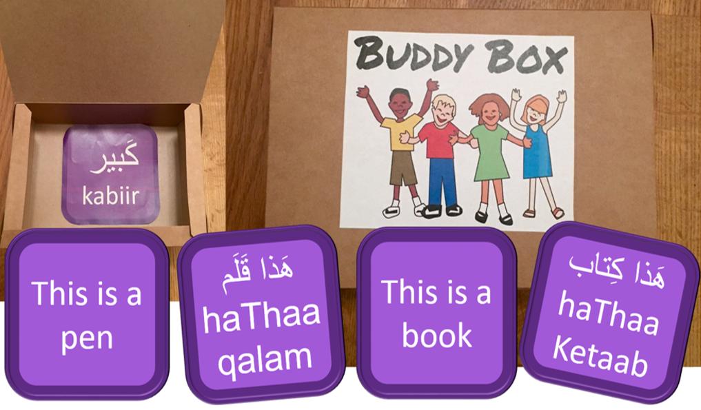 Buddy Box by Mark Hill MBE
